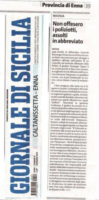 Giornale di Sicilia - 31 gennaio 2014