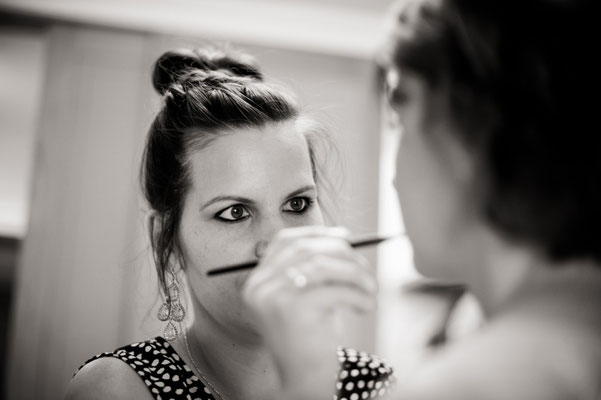 Making of Monika Koller Brautstyling