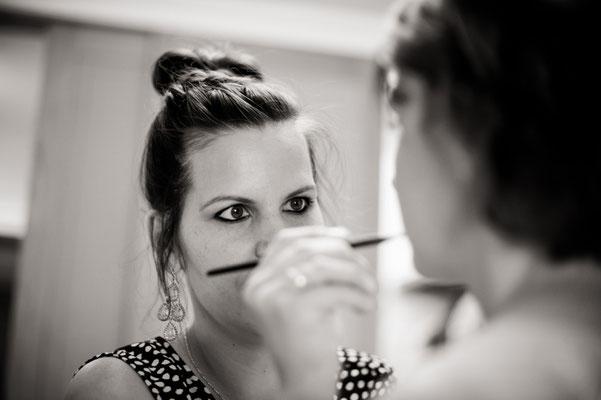 Making of Monika Koller Brautstyling