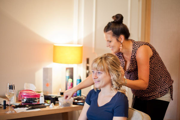 Making of Monika Koller  Haare&Make-up