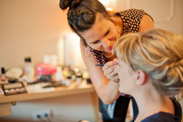 Making of Monika Koller  Haare&Make-up