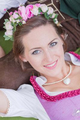 Brautmake-up Brautfrisur Brautstyling Monika Koller
