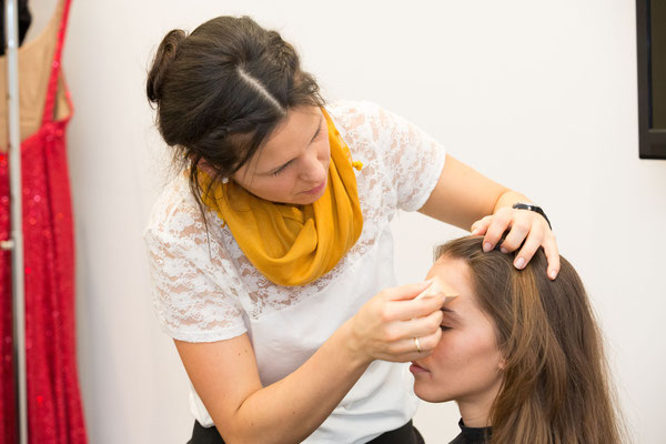 Making of Monika Koller  Make-up Artist & Hairstylist