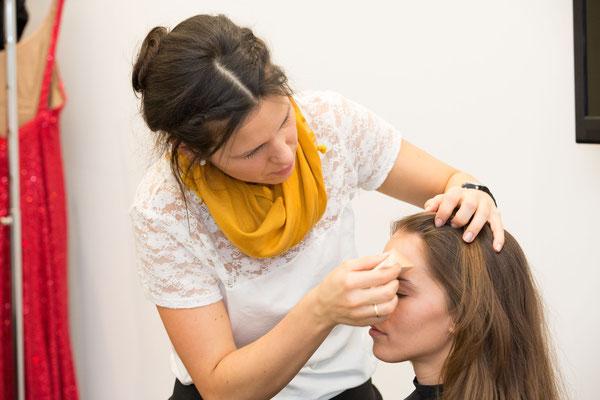 Making of Monika Koller  Make-up Artist & Hairstylist