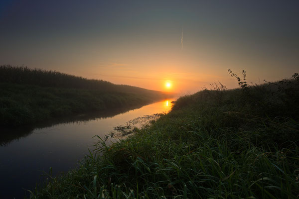 Sonnenaufgang in Merfeld, September 2017