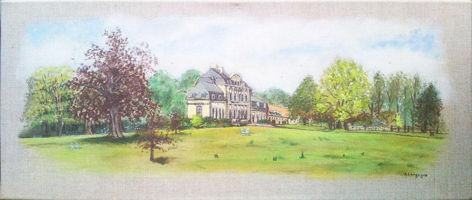 Le château d'Hermaville  (à vendre 170€)