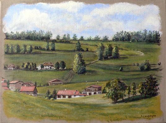 paysage de Savoie (commande)