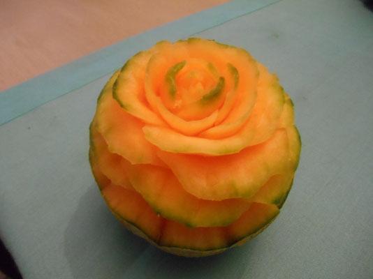 Fleur en melon - 10€