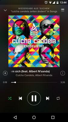 Albert N'sanda, Culcha Candela, Spotify