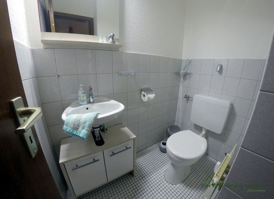 Serperate Toilette