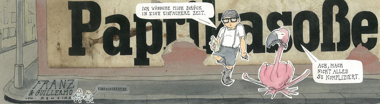 Franz und Guillermo, Unterm Strich, Berliner Zeitung