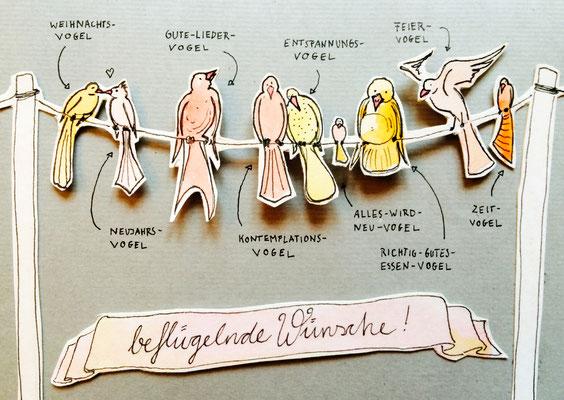 """""""Weihnachtskarte"""", Edition 2014, KENDIKE"""