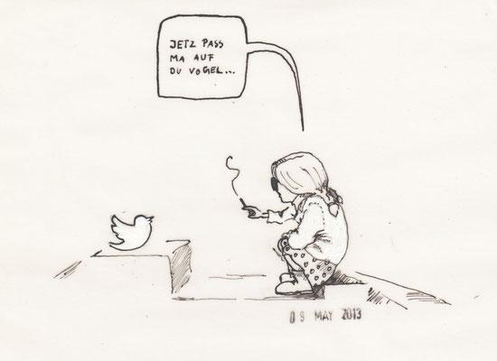 """""""oTTo twittert"""", Theatertreffen - Blog, 2013"""