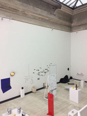 Ausstellungsansicht im Lipsiusbau