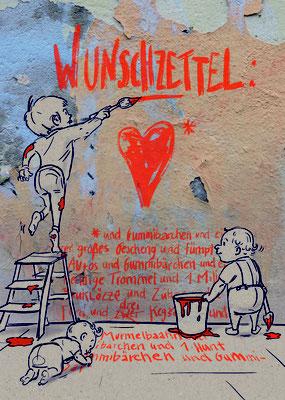 """Wunschzettel"", Edition 2018, KENDIKE"