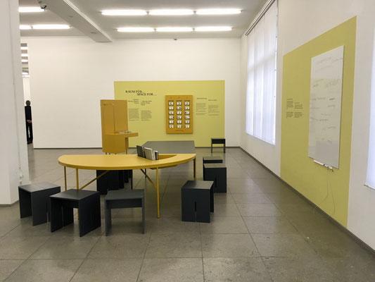 """Kunstspiel für """"Zeit für Fragmente. Werke aus der Sammlung Marx"""" im Hamburger Bahnhof in Berlin, KENDIKE"""