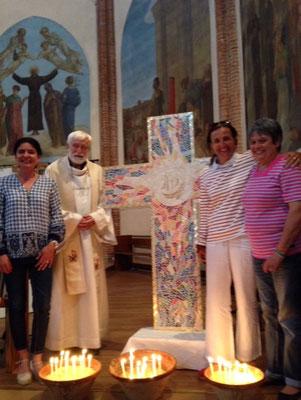 Messe de Pâques 2018 église Saint François d'Assise, Toulouse