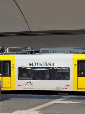 Koblenz, Mittelrheinbahn