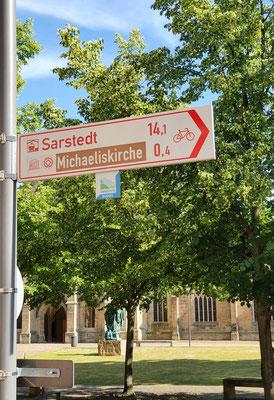 Wegweiser UNESCO in Hildesheim