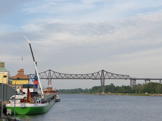 Rendsburger Fährbrücke ohne Schwebefähre