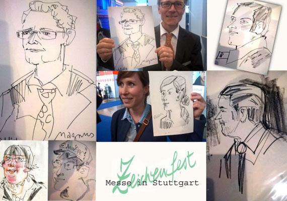 Karikaturist in Frankfurt für Hochzeit, Geburtstage, Firmenfeier