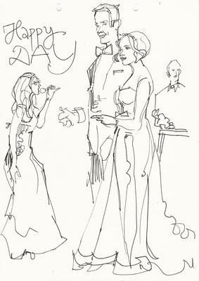 Schnellzeichner Stuttgart, Karikaturist Stuttgart, Kunst, Eventzeichnen in Stuttgart, Kunstmaler in Stuttgart, Karikaturistin in Stuttgart, Kunstmalerin in Stuttgart, Fotobox in Stuttgart, Portraits malen für Ihr Gäste und Karikatur Hochzeit buchen.