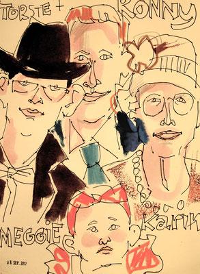 Kunstmaler für das Gebiet Karlsruhe begeistert alle Generationen und auch in ganz Deutschland. Der Karikaturist zeichnet Karikaturen in Farbe für den Genuß und sorgt für permanente Erinnerung für Ihre Hochzeit und Geburtstag mit weiblichem Charm!