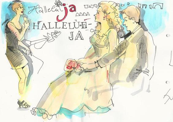 Schnellzeichner Frankfurt am Main für Hochzeit, Hochzeitsfeier, Geschenk für das Brautpaar, Geschenkidee, während dem Fotoshooting oder während dem Gängemenü.