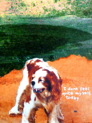 self as dog, copyright chantal labinski, unfuck yourself series 2007 +ongoing