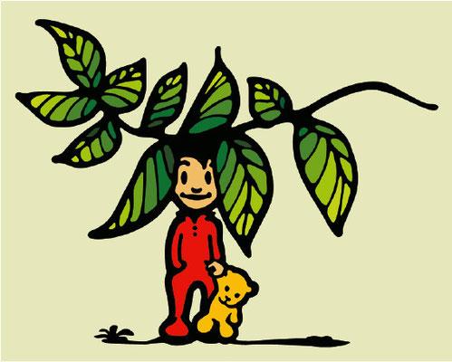 logo for Naturheilpraxis für Kinder, Andreas Brieschke 2009