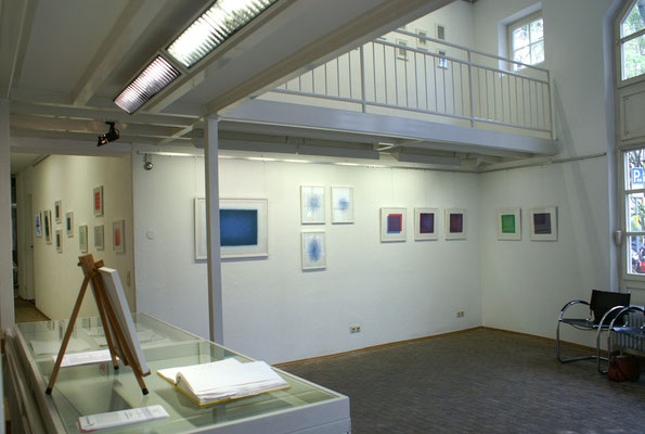 Einblick in die Ausstellung, Erdgeschoss