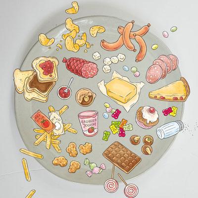 © Illustration für wasfuermich / André & Claudia Schaumann (Autorin), Fotografie: Ilona Habben