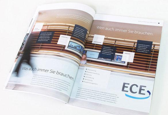 """ECE Imagebroschüre """"OTI"""" 2017, """"Was auch immer Sie brauchen."""""""