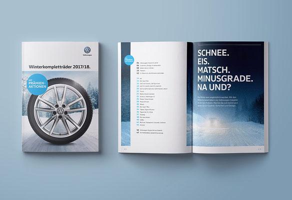Winterkomplettrad-Katalog, VW Zubehör