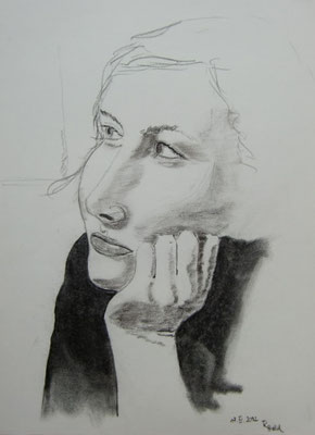 Anna-Katharina (Pastell/Papier, 42 x 32 cm)