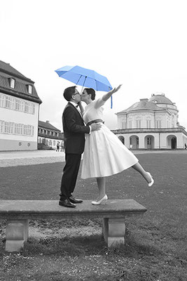 Hochzeitsfotos Rebecca und Minh Schloss Solitude von Meisinger Fotografie