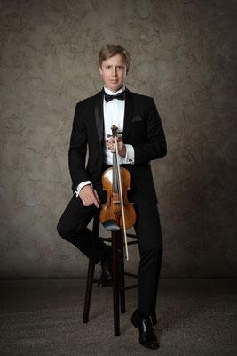 Benjamin Morrison - Erste Violine, Wiener Philharmoniker © Michael Schnabl