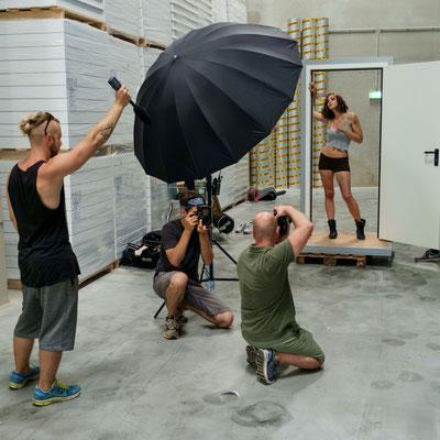Shooting für Teubl Kalender - Michael Schnabl