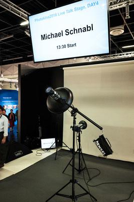 Live on Stage auf der Photokina in Köln - Michael Schnabl