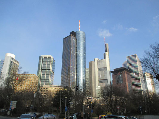 Citybank-Hochhaus;Eurotheum;Main Tower;Commerzbank;Japan Center;Taunusturm;Eurotower