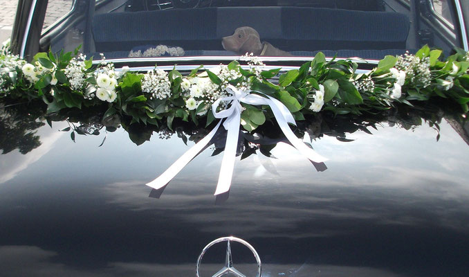 Autoschmuck Blumen Schoner Blumen Naturlich Und Schon