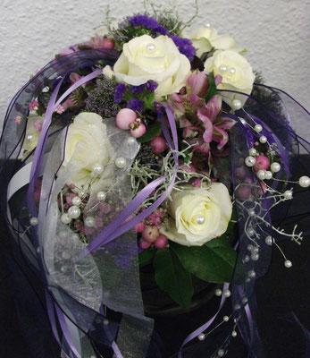 Brautstrauß mit Bänder