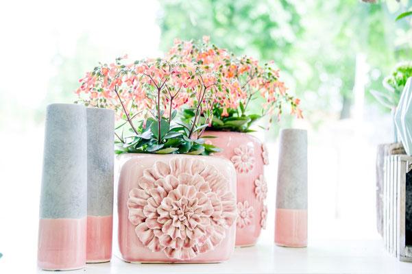 Blütenkeramik