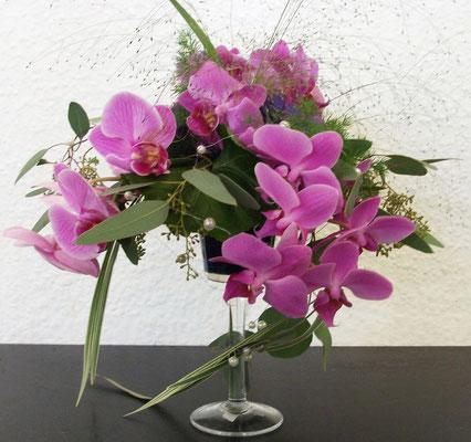 Orchideen - Tischgesteck
