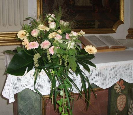 Altargesteck Gerbera