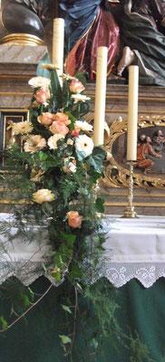 Altarschale abfließend