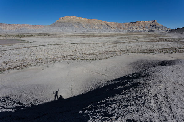 Mondlandschaft. Zwischen Hanksville und Capitol Reef. Utah, USA 8/2014