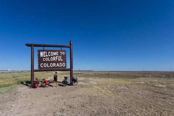 Der TransAmerica Trail bringt uns nach Colorado. USA 7/2014