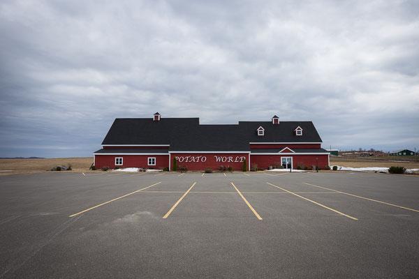 Potato World in der Kartoffelhauptstadt der Welt. Leider nur im Sommer offen. Florenceville-Bristol, New Brunswick, Kanada 4/2014