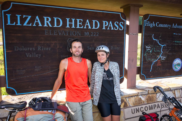 We made our second big pass in the Rockies: Lizardhead Pass. Colorado, USA 8/2014